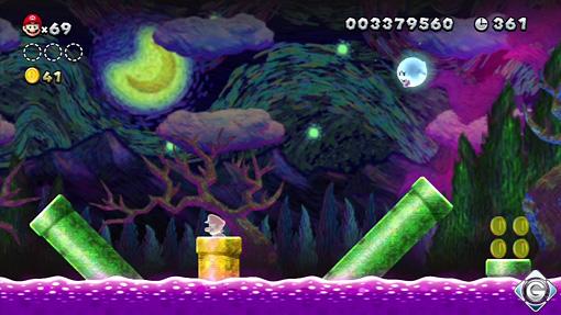 New Super Mario Bros U Schnappt Sie Euch Alle 4 Gemalt Von