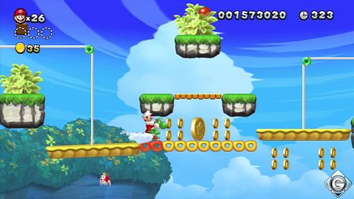 New Super Mario Bros U Schnappt Sie Euch Alle 3 Cheep Cheep