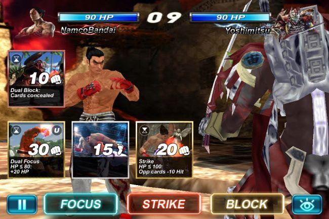 Tekken Card Tournament - Screenshots - Bild 1