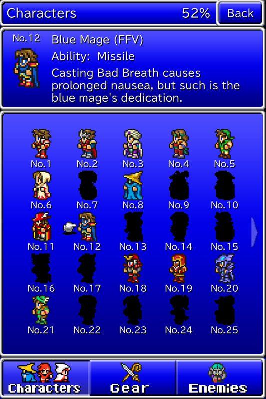 Final Fantasy: All the Bravest - Screenshots - Bild 5
