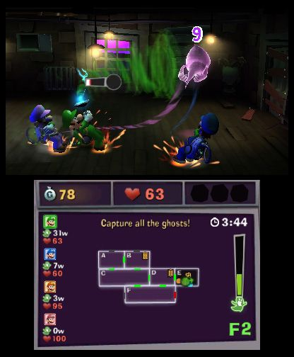 Luigi's Mansion: Dark Moon - Screenshots - Bild 10