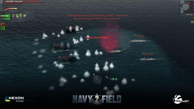 Navyfield 2: Conqueror of the Ocean - Screenshots - Bild 2