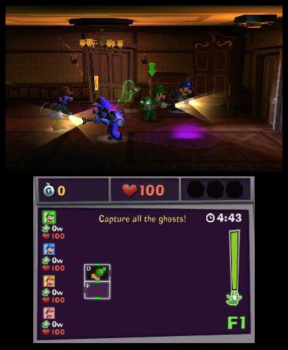 Luigi's Mansion: Dark Moon - Screenshots - Bild 5