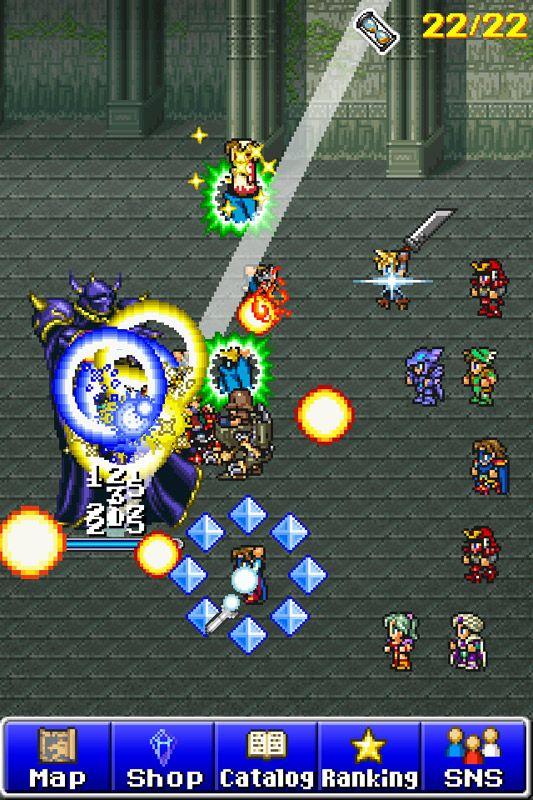 Final Fantasy: All the Bravest - Screenshots - Bild 3