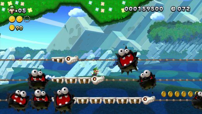 New Super Mario Bros. U DLC: New Super Luigi U - Screenshots - Bild 3