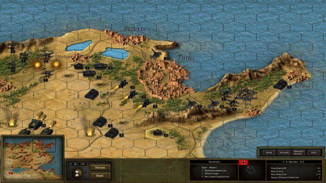 Panzer Tactics: Operation Overlord - Screenshots - Bild 1