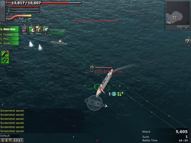 Navyfield 2: Conqueror of the Ocean - Screenshots - Bild 2