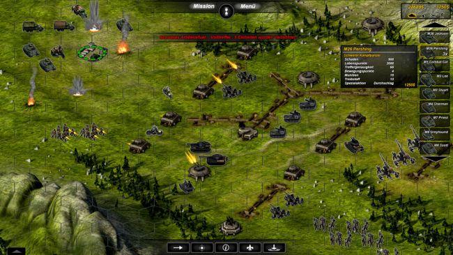 Panzer Tactics: Operation Overlord - Screenshots - Bild 3