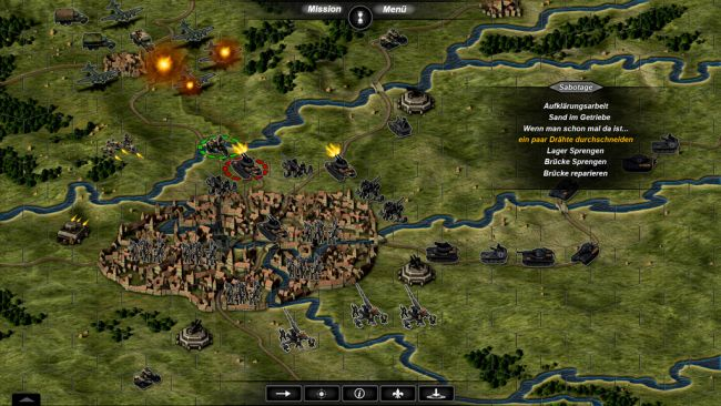 Panzer Tactics: Operation Overlord - Screenshots - Bild 1