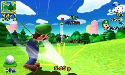 Mario Golf: World Tour - Screenshots - Bild 4