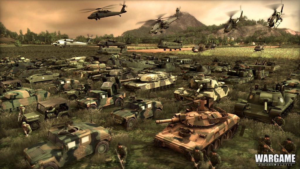 Militär Strategiespiel
