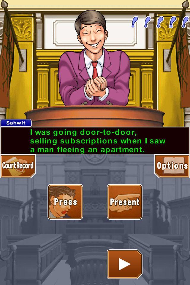 Phoenix Wright: Ace Attorney Trilogy HD - Screenshots - Bild 1