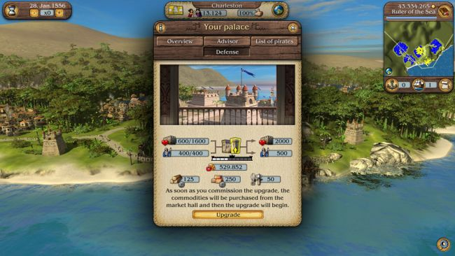 Port Royale 3 - Screenshots - Bild 1