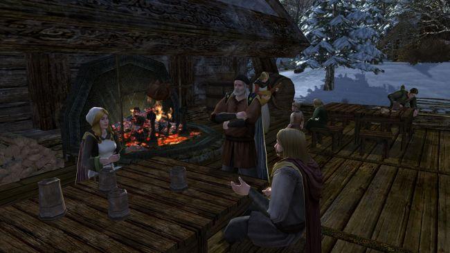 Der Herr der Ringe Online: Helms Klamm - Screenshots - Bild 1