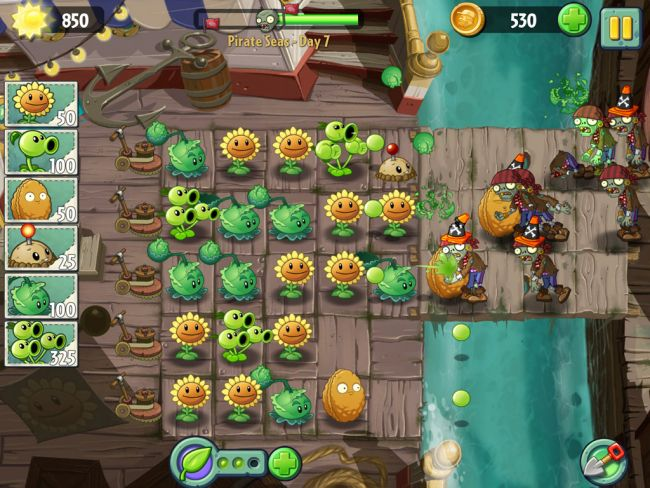 Plants vs. Zombies 2 - Screenshots - Bild 6