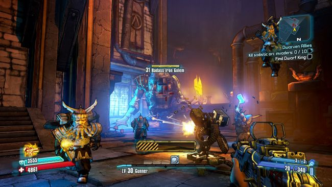 Borderlands 2 DLC: Tiny Tina's Assault on Dragon Keep - Screenshots - Bild 1