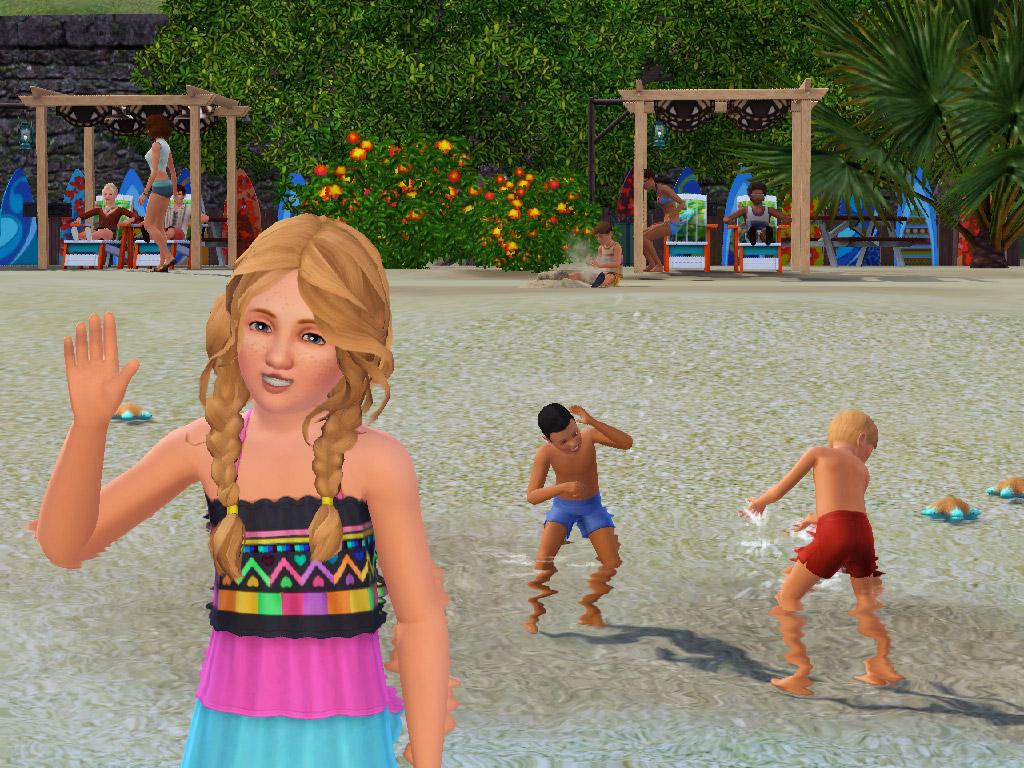 Die Sims 3 Inselparadies Ins Wasser Gefallen Test Von Gameswelt