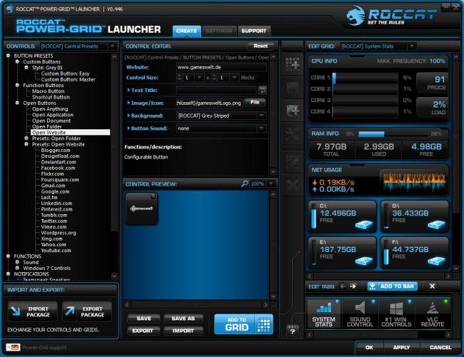 Roccat Power-Grid - Screenshots - Bild 14