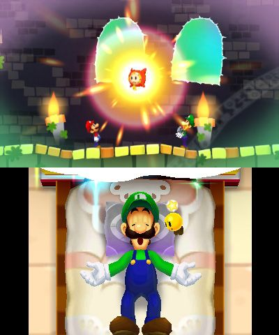 Mario & Luigi: Dream Team Bros. - Screenshots - Bild 6