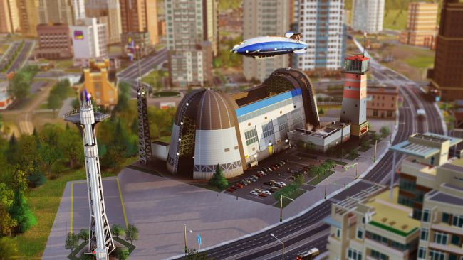 SimCity DLC: Luftschiff-Set - Screenshots - Bild 2