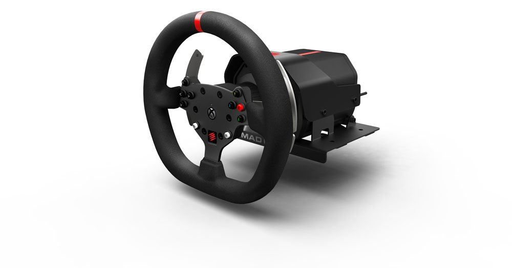 mad catz force feedback racing wheel xbox one lenkrad. Black Bedroom Furniture Sets. Home Design Ideas