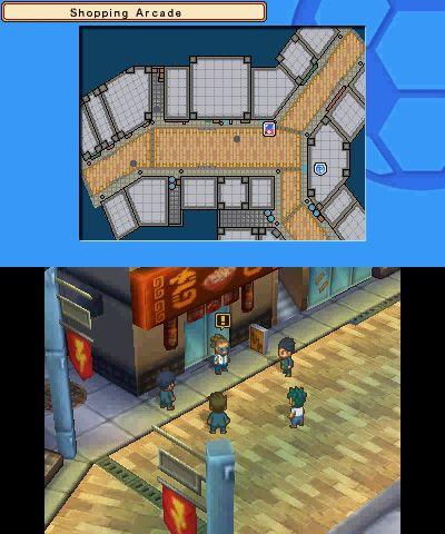 Inazuma Eleven 3: Lightning Bolt/Bomb Blast - Screenshots - Bild 1