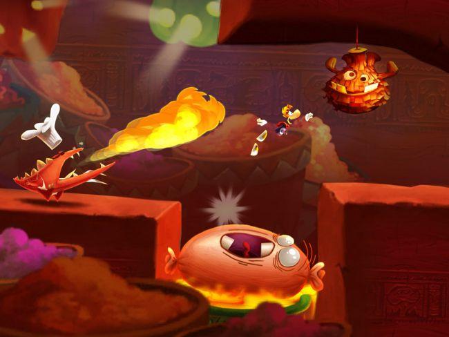 Rayman Fiesta Run - Screenshots - Bild 3