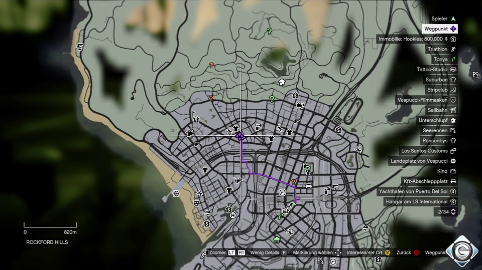 Gta 5 IntereГџante Orte Auf Der Karte