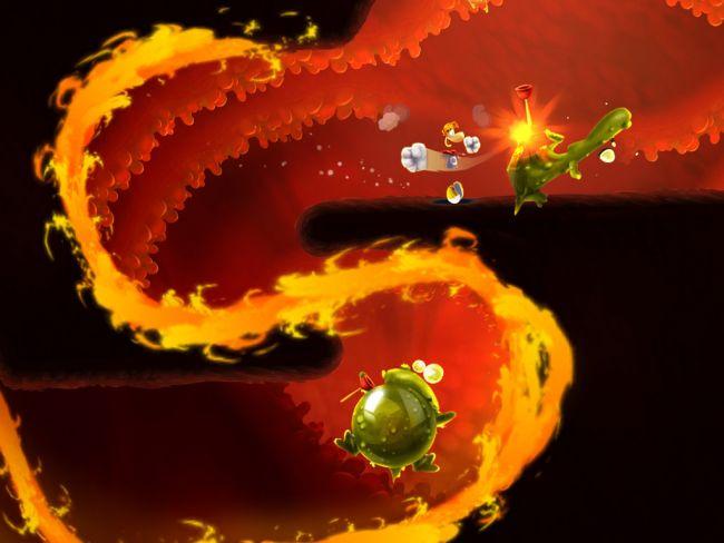 Rayman Fiesta Run - Screenshots - Bild 1