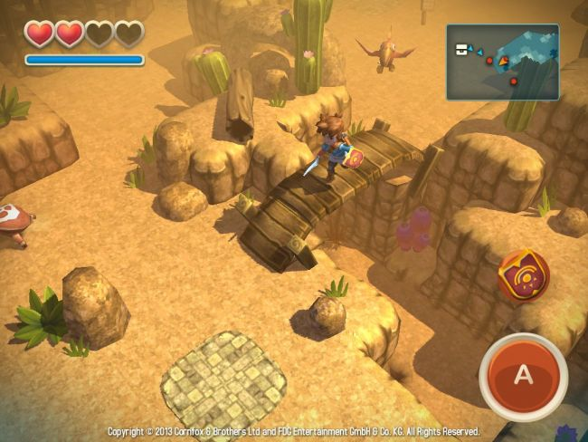 Oceanhorn: Monster of Uncharted Seas - Screenshots - Bild 8
