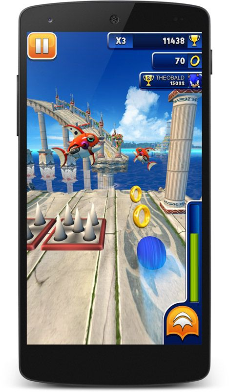 Sonic Dash - Screenshots - Bild 2