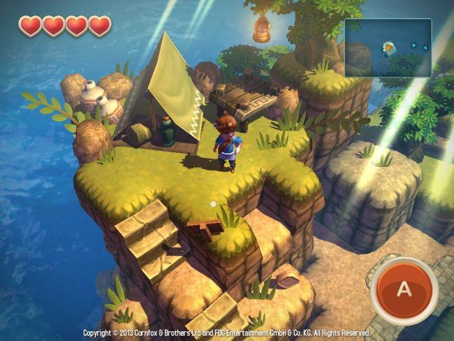 Oceanhorn: Monster of Uncharted Seas - Screenshots - Bild 6