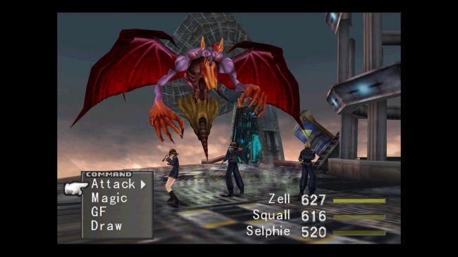 Final Fantasy VIII - Screenshots - Bild 1