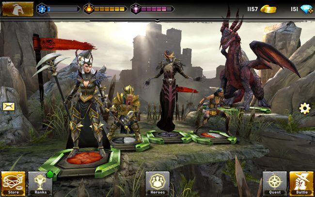 Heroes of Dragon Age - Screenshots - Bild 2