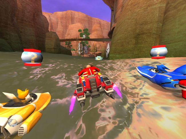 Sonic & All-Stars Racing Transformed - Screenshots - Bild 1