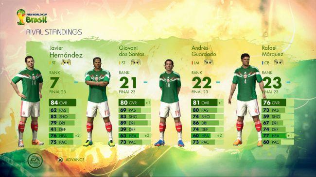 FIFA Fussball-Weltmeisterschaft Brasilien 2014 - Screenshots - Bild 8