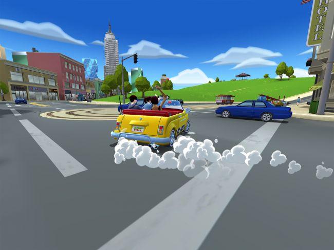 Crazy Taxi: City Rush - Screenshots - Bild 4