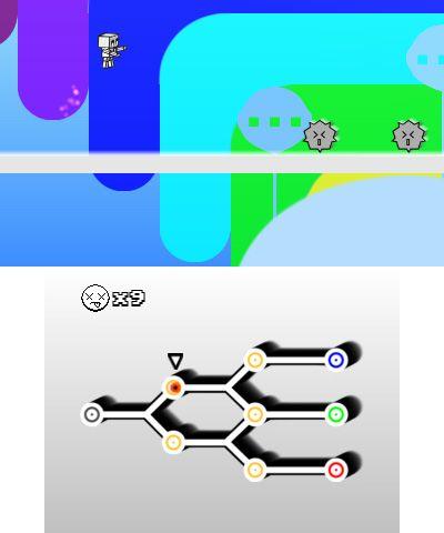 Cubit: The Hardcore Platformer Robot - Screenshots - Bild 2