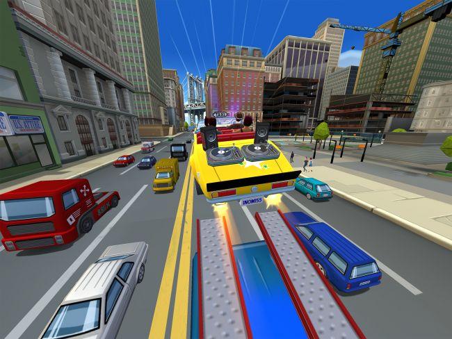 Crazy Taxi: City Rush - Screenshots - Bild 1