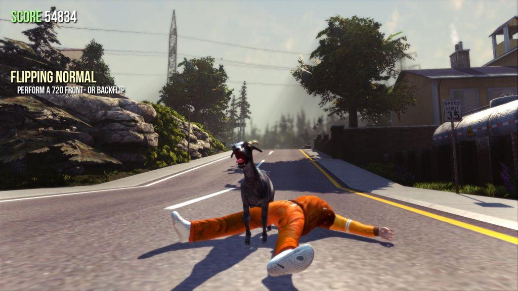 Goat Simulator: Ragdoll Goat-Fu! - Test von Gameswelt