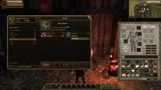 Gloria Victis - Screenshots - Bild 1