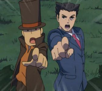Professor Layton vs. Phoenix Wright: Ace Attorney - Test