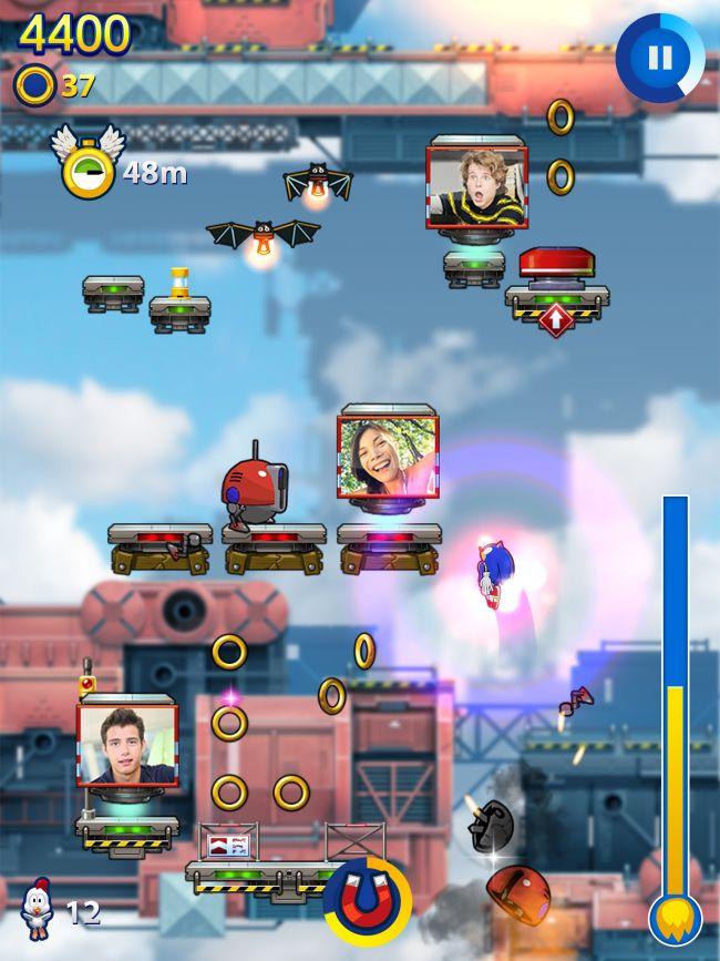 Sonic Jump Fever - Screenshots - Bild 2