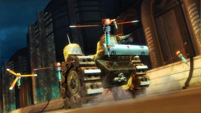 Final Fantasy VII G-Bike - Screenshots - Bild 7