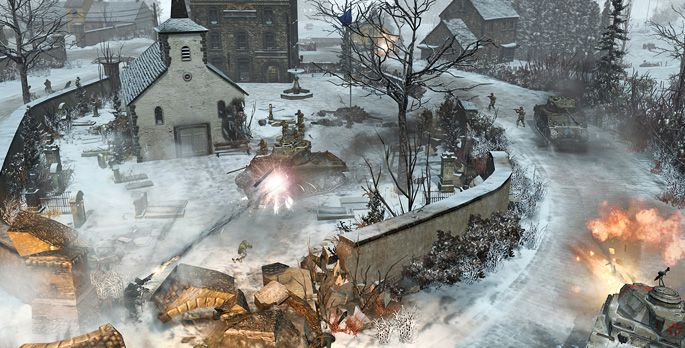 Company of Heroes 2: The Western Front Armies - Test
