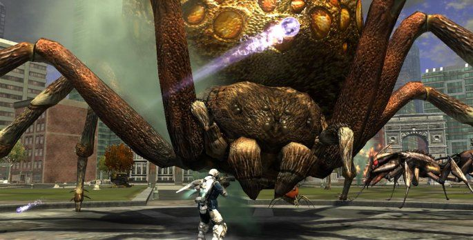 Earth Defense Force: Insect Armageddon - Test