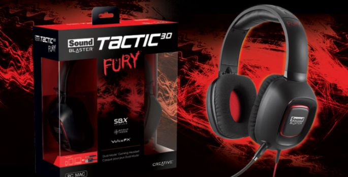 Creative Sound Blaster Tactic3D Fury - Test