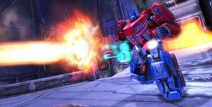 Transformers: Rise of the Dark Spark - Test