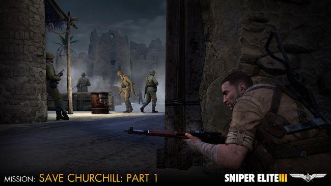 Sniper Elite 3 - DLC: Save Churchill Part 1: In Shadows - Screenshots - Bild 9