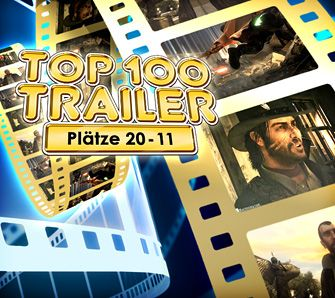 Gameswelt Top 100 Trailer Plätze 20-11 - Videoartikel
